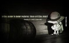 Getting hurt!/Luffy/One piece One Piece Anime, One Piece Comic, One Piece Luffy, Manga Anime, Mugiwara No Luffy, One Piece Quotes, Brooks One Piece, I Like Being Alone, The Pirates