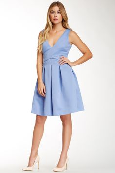 Surplice Cocktail Dress by Halston Heritage on @nordstrom_rack