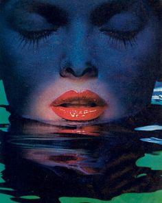 Almay Moisture Rich Lipstick 1982,US Vogue...