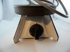 Kochplatte mit Drehknopf und emaille Fuß 1200W 240V