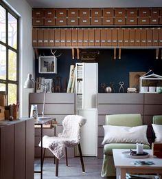 Ikea Katalog 2013 regale kommoden organisation
