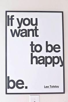 Be. Yes. :: Fun etsy art by Maridee Studio.