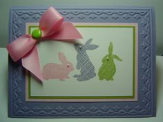 Easter Bunny Do Over by crazysuziestamper - Cards and Paper Crafts at Splitcoaststampers