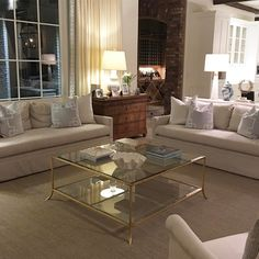 View of my client's beautiful family room!