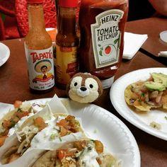 Taco Tuesday!  (www.adorableindustries.com) #adorableindustries #adorable #plushies #stuffedanimals #stuffedtoys #plushtoys #disney #disneychip #disneyplush #chip #chipmunk #rescuerangers #tacos #hotsauce #tapatio #fishtacos #shrimpcocktail #mexicanfood #foodie #cutie #foodcritic #tacosensenada #animalovers #toocutetuesday #tsumtsum #disneytsumtsum #tsumtsumtuesday #toys #cutiepie #cutiepatootie #socute #toocute #aww #eatingout #bestintown