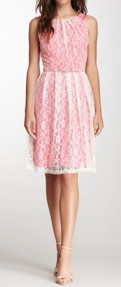 Lace overlay dress So cute <3