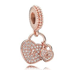 12f3ef1cb Official Pandora ROSE Love Locks Charm from The Jewel Hut. Highest rated  Pandora retailer - shop our gorgeous collection and get FREE delivery.