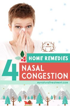 4 Home Remedies for Nasal Congestion Cold Home Remedies, Flu Remedies, Natural Remedies, Nasal Congestion Remedies, Organic Apple Cider Vinegar, Sinus Infection, Good To Know, How To Stay Healthy