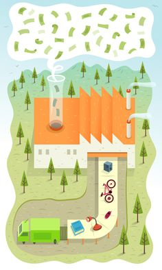 Information Visualisation - Alex Mathers Illustration