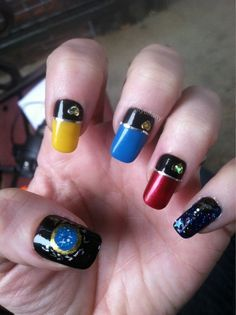 Star Trek nails! OMG!