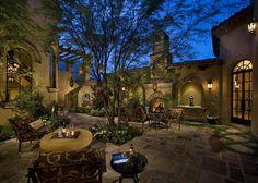This looks like heaven to me. I love this.  Courtyard / Backyard of a spectacular luxury estate - mediterranean - patio - phoenix - Fratantoni Luxury Estates