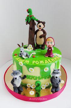 Торт Маша и Медведь) - Кондитерская - Babyblog.ru
