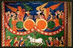 """Beato de Fernando I o """"Segundo de la Biblioteca Nacional"""". Es obra del mitad del siglo XI (1047) y fue escrito y miniado por Facundo.  Cuenta con 98 excelentes miniaturas que, aunque continua con la tradición de los beatos prerrománicos hispanos, empieza a apuntar ya mayores influencias europeas.  Se conservó en la Colegiata de San Isidoro de León, hasta que Felipe V, en la Guerra de Sucesión, lo requisó y envió a la Biblioteca Real. Actualmente se conserva en la Biblioteca Nacional de…"""