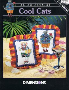 CCS   DIMENSIONS  359  Cool Cats Counted by BusyBeaverBoutique