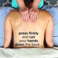 Easy Partner Upper Back Massage