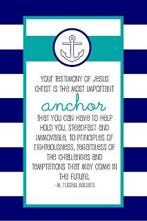 This-n-that; a little crafting: Come Follow Me (MAY) How can I strengthen my testimony?