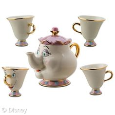 I see a tea party in my future! This would be fun while watching Beauty and the Beast. =)