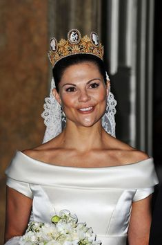 Princess Victoria Photos: Wedding Of Crown Princess Victoria & Daniel Westling - Banquet - Inside