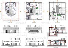 dimensions villa savoye - Recherche Google