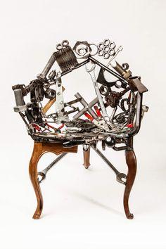 Cadeira Bololo Junção - Outra Oficina (Leo capote e marcelo Stefanovicz)