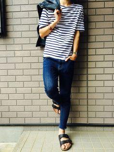 ryusuke│SAINT JAMES'sT ShirtsLooks-WEAR