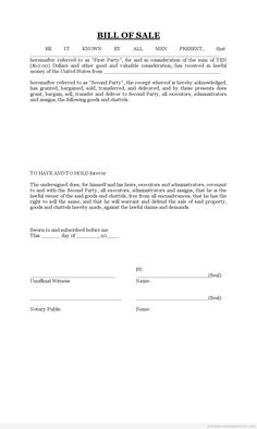Free contract to sell on land contract printable real estate sample printable bill of sale form short form bill template real estate templates maxwellsz