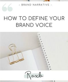 Wondering how to define your brand voice? Here are a few simple tips that will help you develop a clear, aligned voice for your brand. Business Advice, Online Business, Copywriting, Management Tips, Growing Your Business, Social Media Marketing, Helpful Hints, The Voice, Web Design