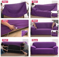 Universal Sofa Cushion Elastic Sofa Cover Lazy Sofa Cover (Order Today – Deals-o-saur Types Of Couches, L Shaped Couch, Recliner Cover, Sectional Couch Cover, Old Sofa, Sofa Protector, Couch Covers, Cushions On Sofa, Fabric Sofa