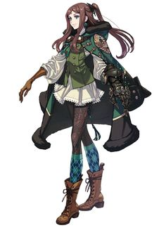 I particularly like the design for this character making her my favourite character from Drakengard 3.