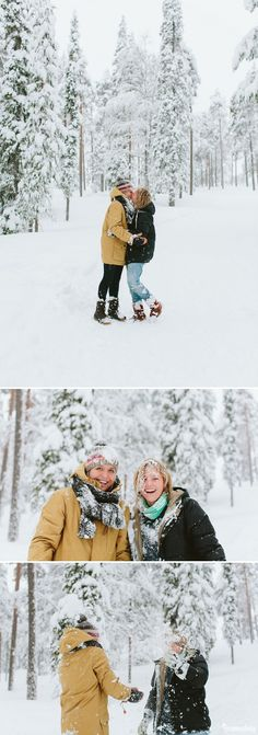 I captured lifestyle portraits in Lapland of two lovely women. We enjoyed the Northern Lights, snow fights, cabin living and snowshoeing in the forest. Lapland Finland, Northern Lights, Portraits, Lifestyle, Couple Photos, Photography, Couple Shots, Photograph, Fotografie