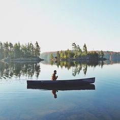 algonquin park, on (scoutforth) / photo by theruggedwoodsman. Oh The Places You'll Go, Places To Visit, Beautiful World, Beautiful Places, Algonquin Park, Canoe And Kayak, Canoe Trip, Destinations, Adventure Is Out There