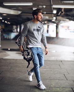 89 Best PUMA DESIGNS images | Fashion, Mens tops, Puma outfit