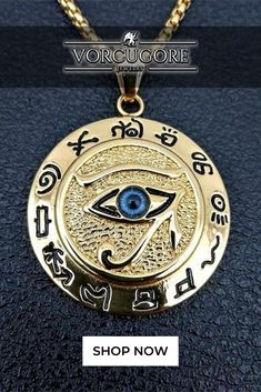 If you want to see the truth, you must be brave enough to look. The Eye of Horus, also known as the Eye of True Knowledge is one of the most impressive symbols of protection, royal power, and good health in ancient Egyptian culture. Wear this pendant as a form of spiritual protection.