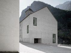 Wiederaufbau Gemeinde Gondo / Durrer Linggi Architekten