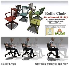 Atelier Kreslo rollie chair ad | Flickr - Photo Sharing!