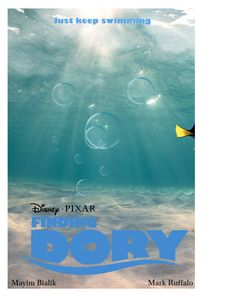 """Finding Dory (Movie Poster)"" by jivy44 ❤ liked on Polyvore"