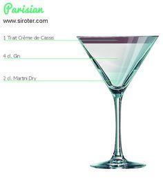 Recette Cocktail PARISIAN