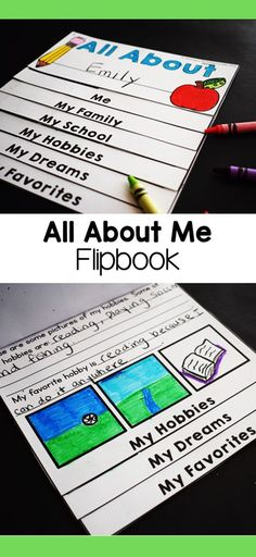 I like to start the new school year by having my students complete an all about me activity. I created this get to know you flipbook craft to help teachers get to know their new students at back to school time. Get To Know You Activities, All About Me Activities, First Grade Activities, Second Grade Writing, Teaching Second Grade, First Grade Reading, Back To School Teacher, Last Day Of School, New School Year