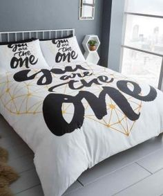 you are the one bedding set