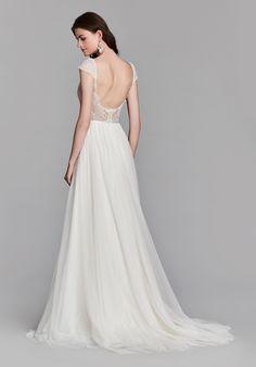 Jim Hjelm 8707 A-Line Wedding Dress