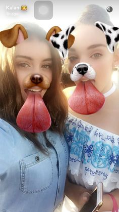 Kalani and kendall on snapchat