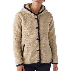 W's Shearling Fleece Hooded Cardigan,
