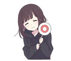 Ideas For Drawing Girl Simple Kawaii Me Anime, Cute Anime Chibi, Kawaii Anime Girl, Anime Art Girl, Anime Girl Drawings, Sweet Pictures, Dibujos Anime Chibi, Kawaii Chan, Simple Anime