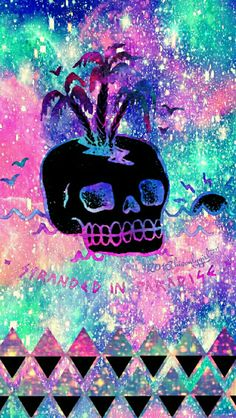Skull island galaxy iPhone/Android wallpaper I created for the app CocoPPa! 2016hisonlygirl❤™