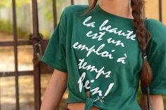 T-shirt Très Chic! A bit of Tartan! http://blog.3chic.com/2014/12/a-bit-of-tartan.html
