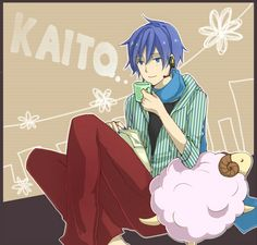 KAITO Creds by ムク @ Pixiv