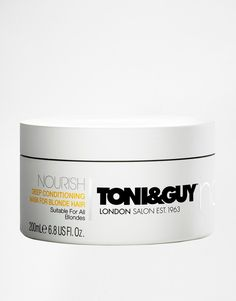 Pin for Later: Blondes Will Certainly Have More Fun After Using These Products Toni & Guy Deep Conditioning Mask For Blonde Hair Toni & Guy Deep Conditioning Mask For Blonde Hair (£7)