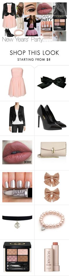 """Dance Party! contest"" by xxunicorn-loverxx on Polyvore featuring Chanel, Yumi Kim, Yves Saint Laurent, Dolce&Gabbana, Monsoon, Gucci, Fresh and danceparty"