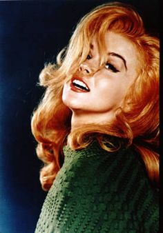 Ann Margret, one of my favorite vintage redheads.