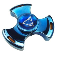 Buy Beyblade Rotablade blue fidget hand spinner tri bar spinner edc and adhd spinners. Spin Time: 4-5 min, Model: PCC Bayblde, Material: Metal Alloy